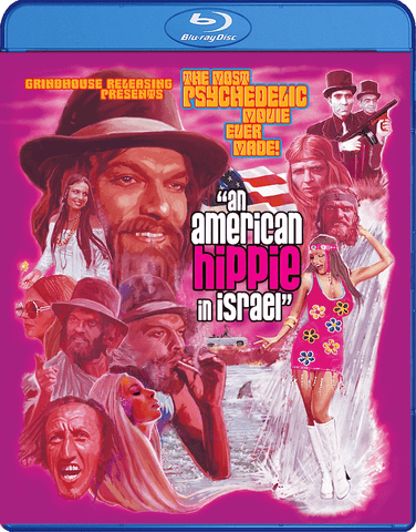 Grindhouse Releasing Blu Ray An American Hippie in Israel (1972) Blu-Ray