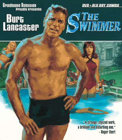 Grindhouse Releasing Blu Ray The Swimmer (1968) Blu-Ray / DVD Combo