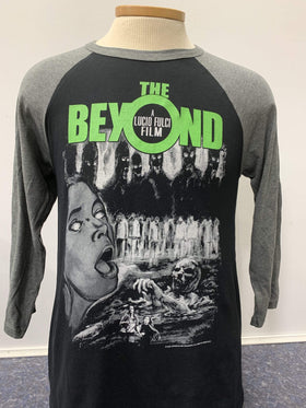 THE BEYOND 3/4 Sleeve Shirt : Grey One-Sheet
