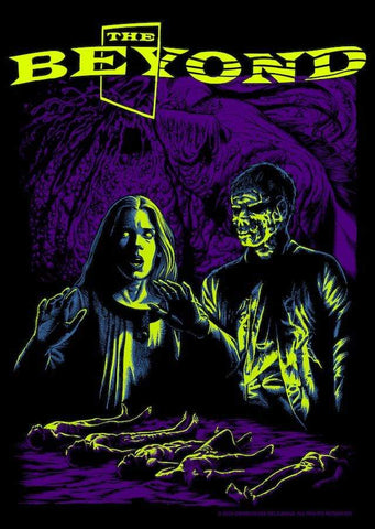 Grindhouse Releasing THE BEYOND Women's T-shirt : Visions of Doom