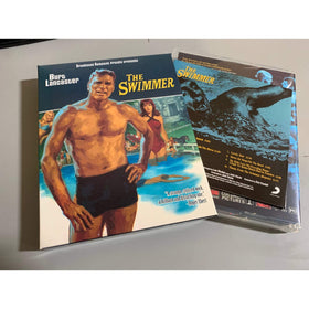 THE SWIMMER (1968) 3 DISC (Blu-ray + DVD + CD soundtrack) LIMITED EDITION - only 2000 units: Embossed slipcover