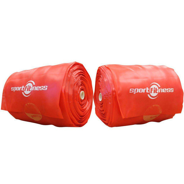 Tera Band Rollo 25000* 150* 0.45 MM Rojo-Sportfitness