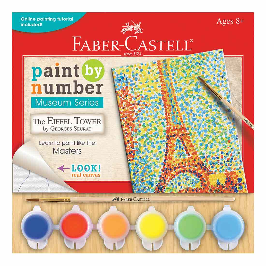 The Eiffel Tower Paint by Number