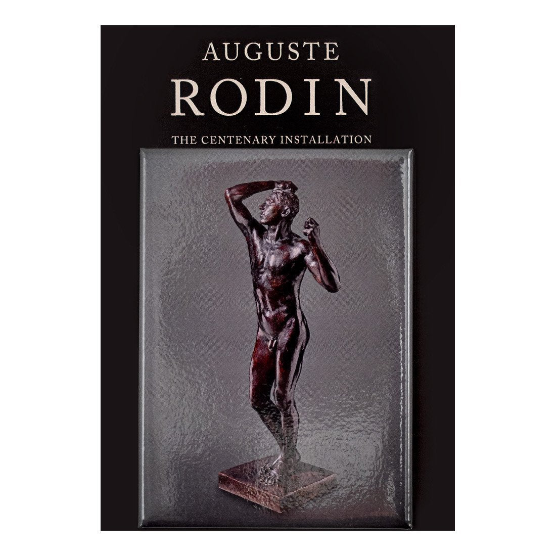 Auguste Rodin The Age of Bronze Magnet