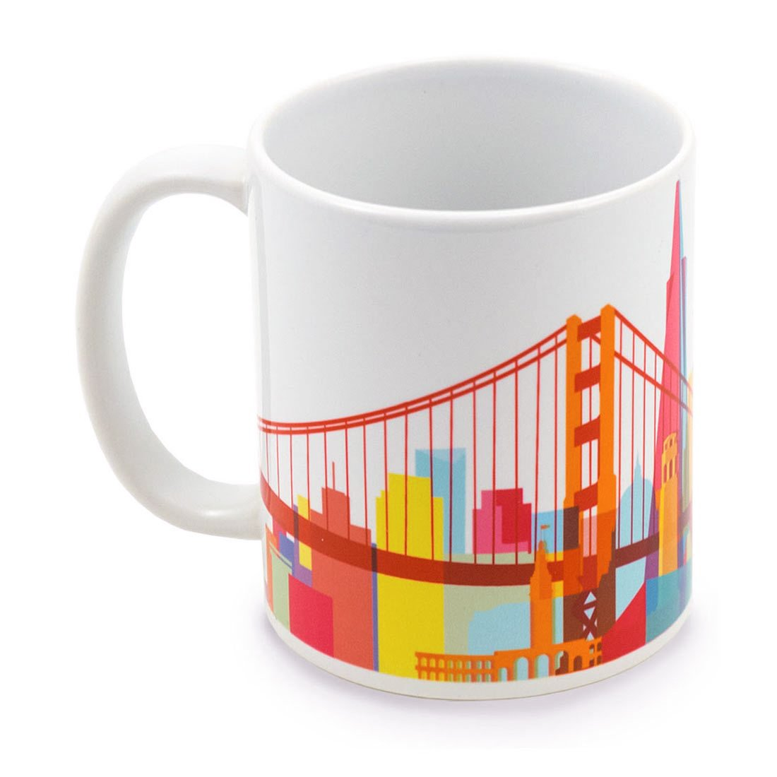 San Francisco Skyline Mug