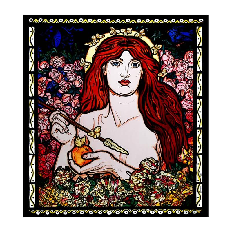 Dante Rossetti Venus Window Cling