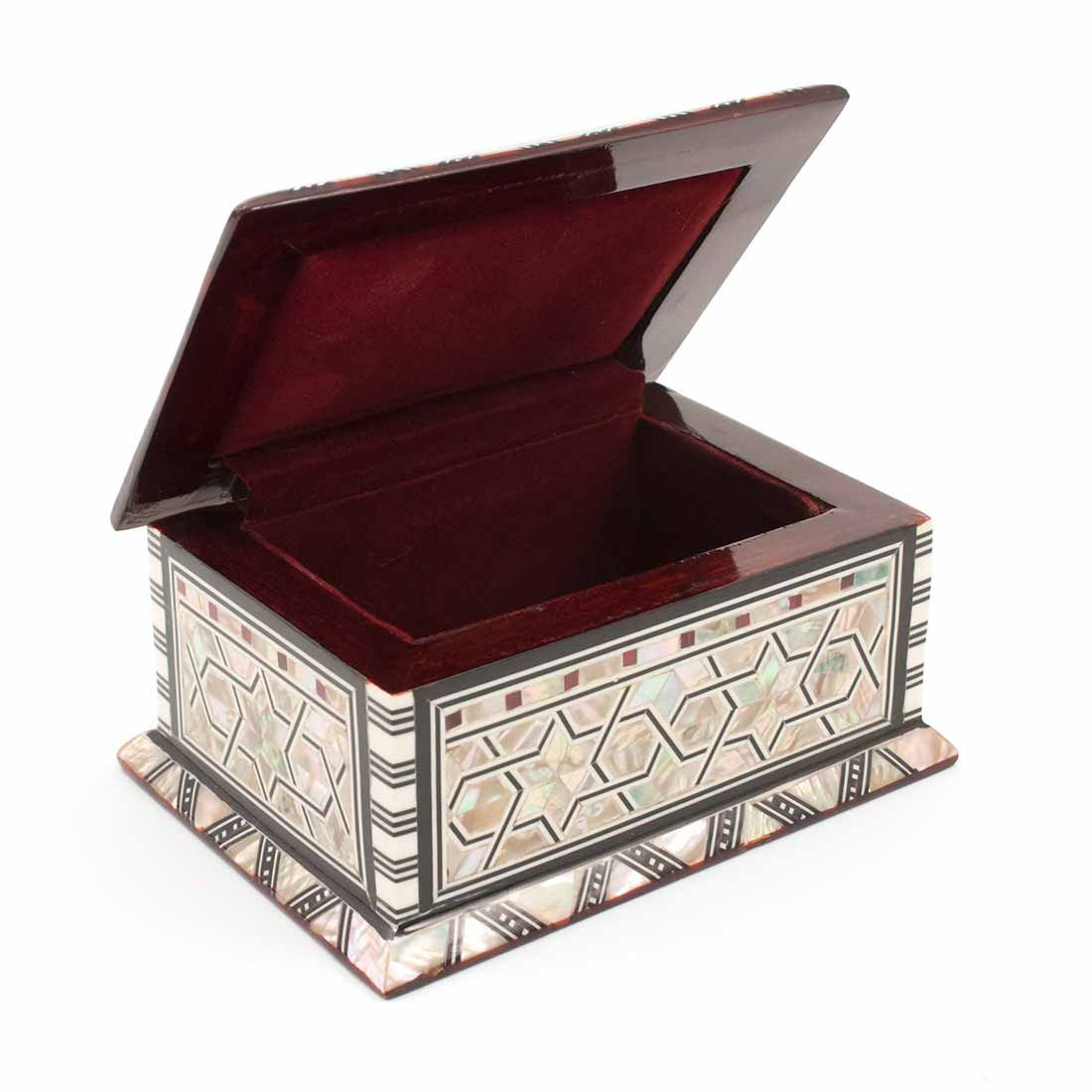 Egyptian Mother of Pearl Large Rectangle Box