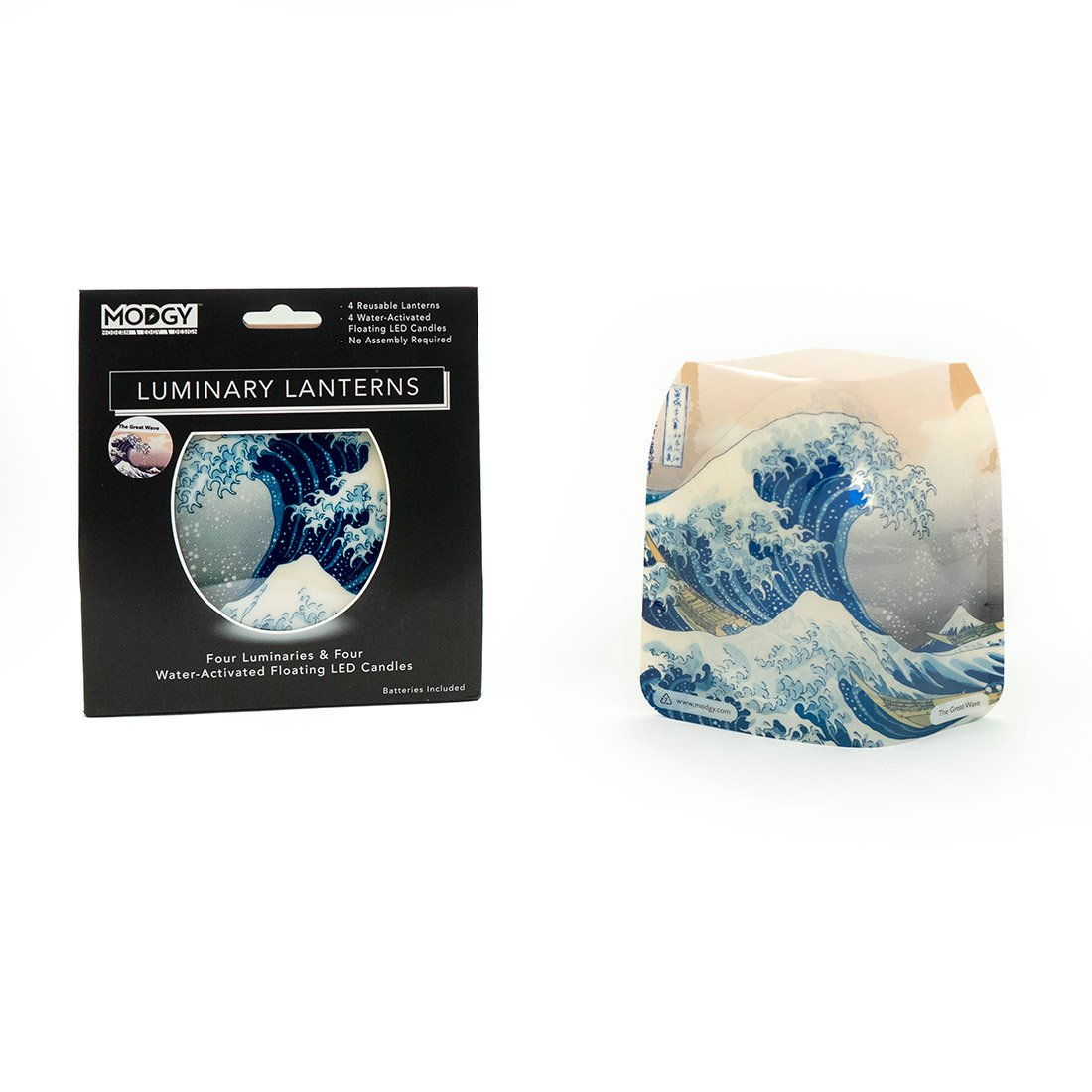 The Great Wave Expandable Luminary Set