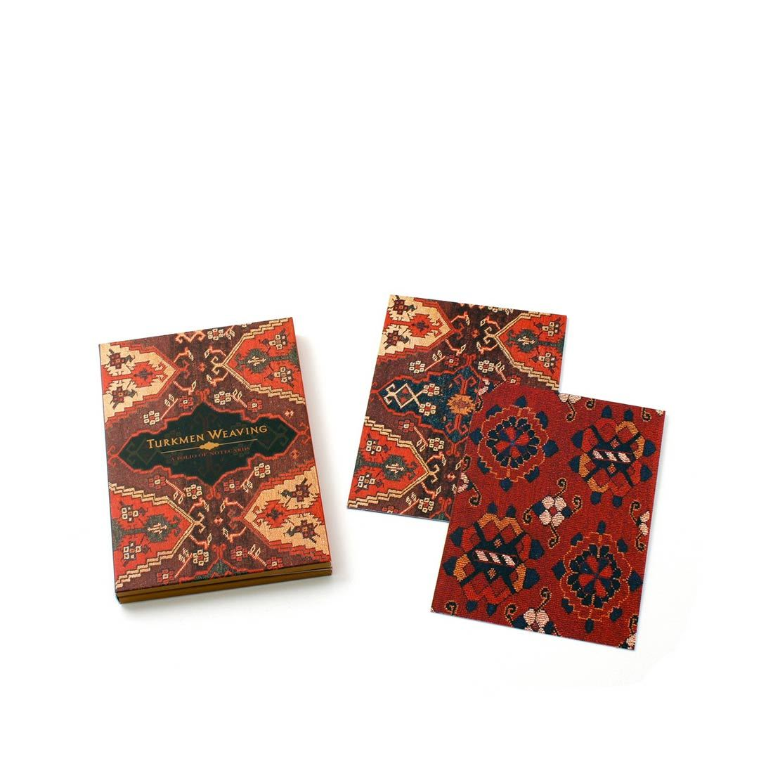 Turkmen Weaving Notecard Folio