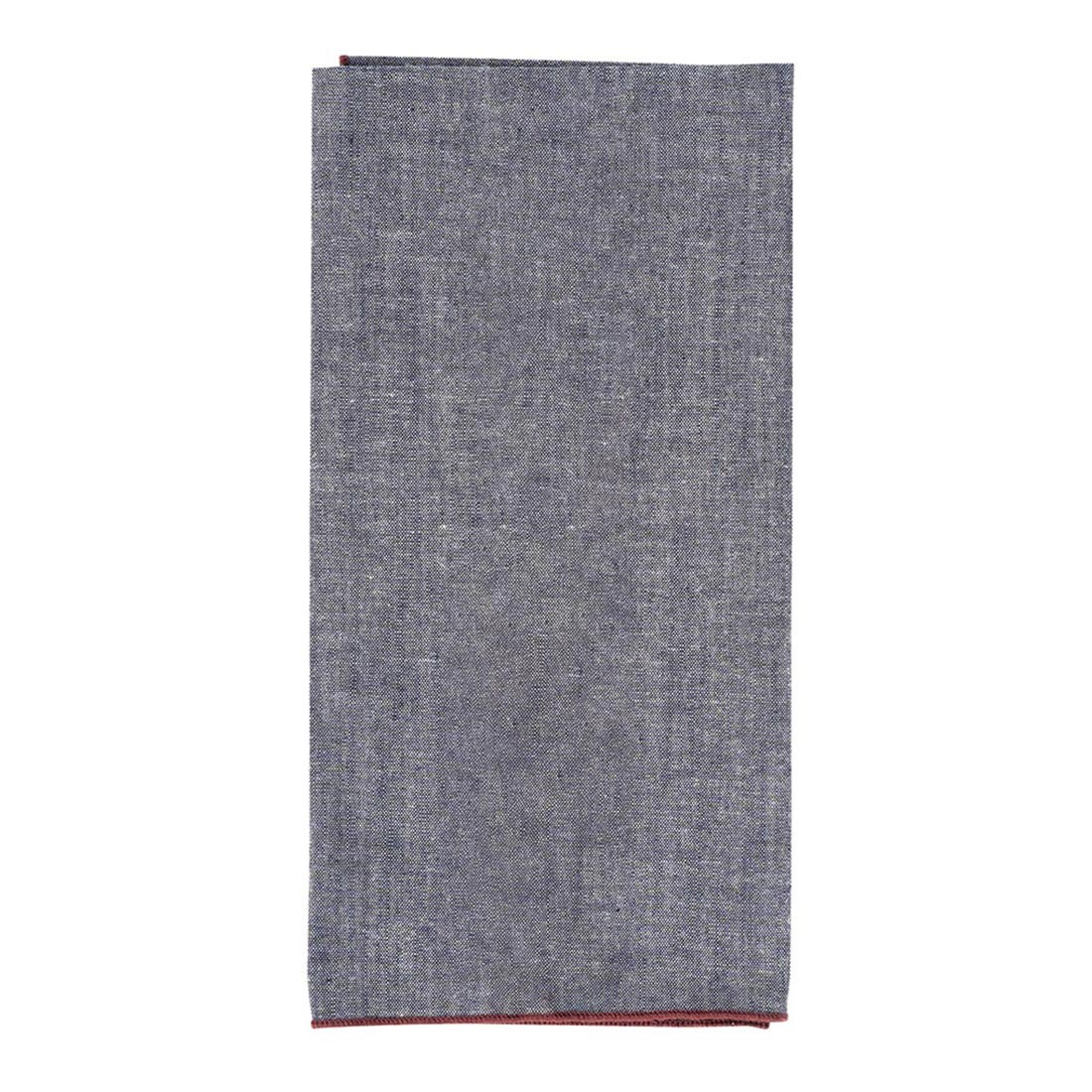 Bordeaux Chambray Napkin