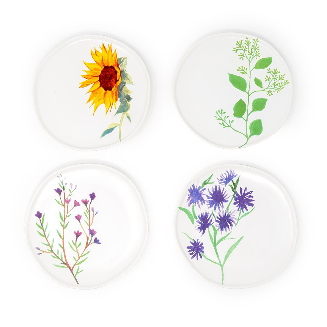 Bloom Dessert Plate Set