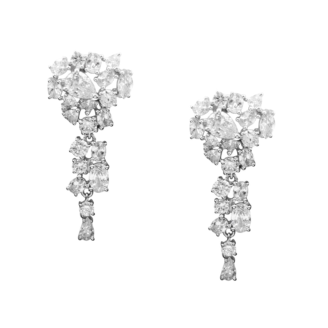 Chandelier Clip-On Earrings