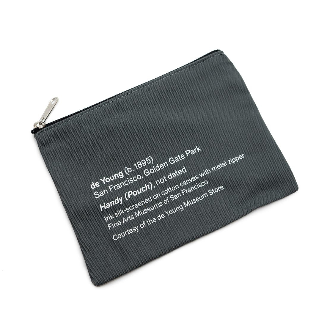 de Young Didactic Zipper Pouch