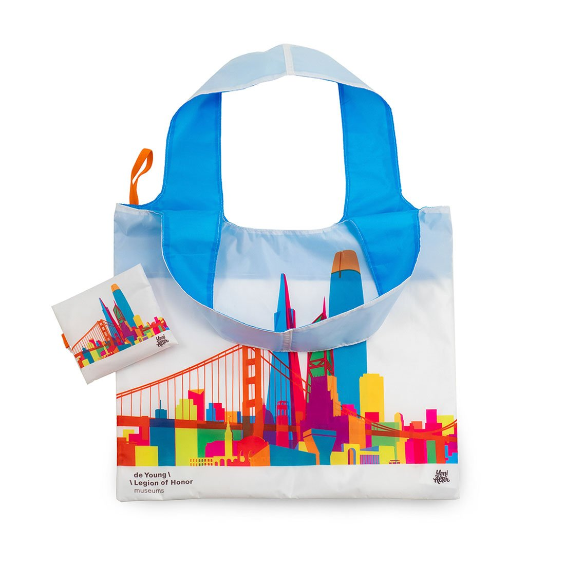 San Francisco Skyline Eco Tote