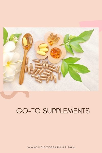 GO-TO SUPPLEMENTS