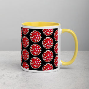 DOSED Amanita - Mug with Color Inside