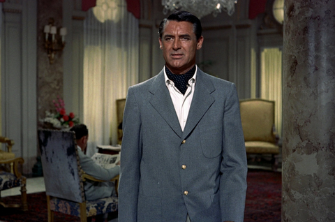 "Cary Grant in Alfred Hitchcock's ""To Catch a Thief"""