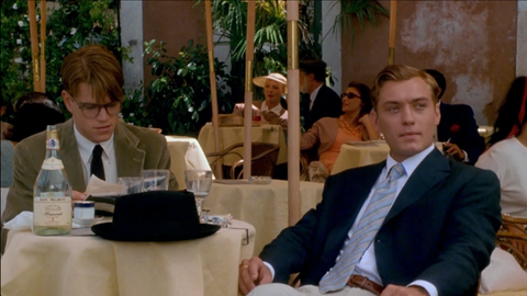 Jude Law and Matt Damon. The Talented Mr. Ripley. Miramax Films