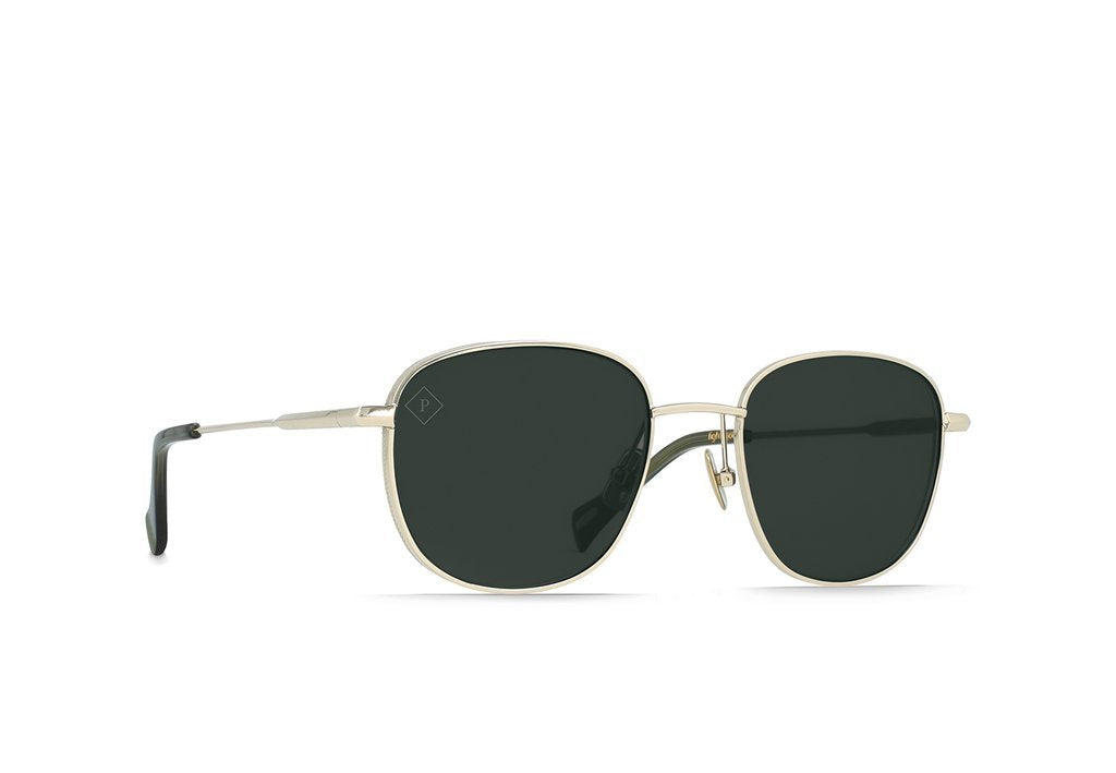 Light Gold + Moss / Green Polarized