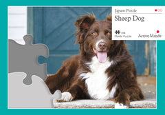 Sheep Dog - Active Minds Puzzle