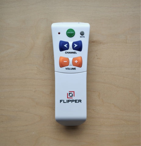 Flipper Simple Universal TV Remote with Big Buttons