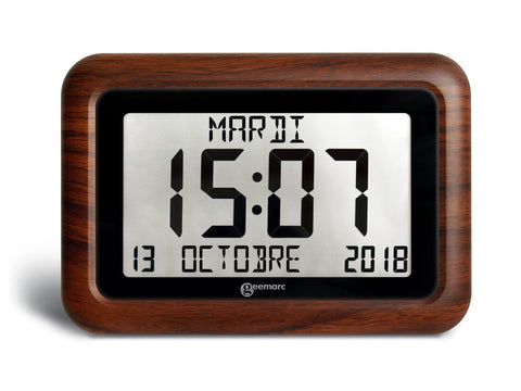 VISO 10 Wood Clock