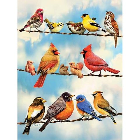 Blue Sky Birds Puzzle - Keeping Busy