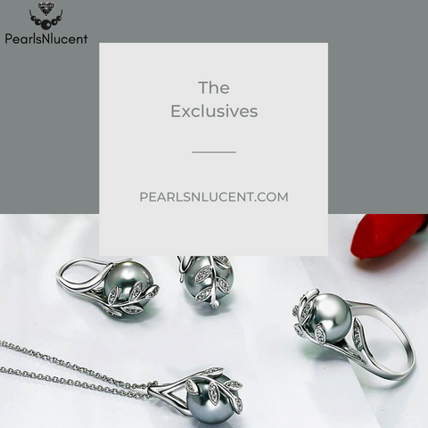 """""""pearlsnlucent.com exclusive jewelry collection"""""""
