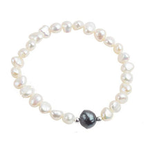 Load image into Gallery viewer, Baroque Freshwater Pearl Charm Bracelet - pearlsnlucent.com