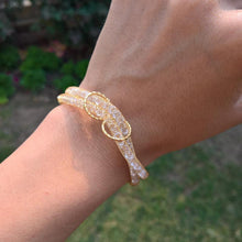 Load image into Gallery viewer, Vintage Crystal Mesh Bracelet - pearlsnlucent.com