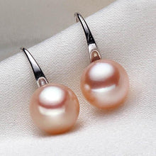 Load image into Gallery viewer, Freshwater Pearl Drop Earrings Pink - pearlsnlucent.com