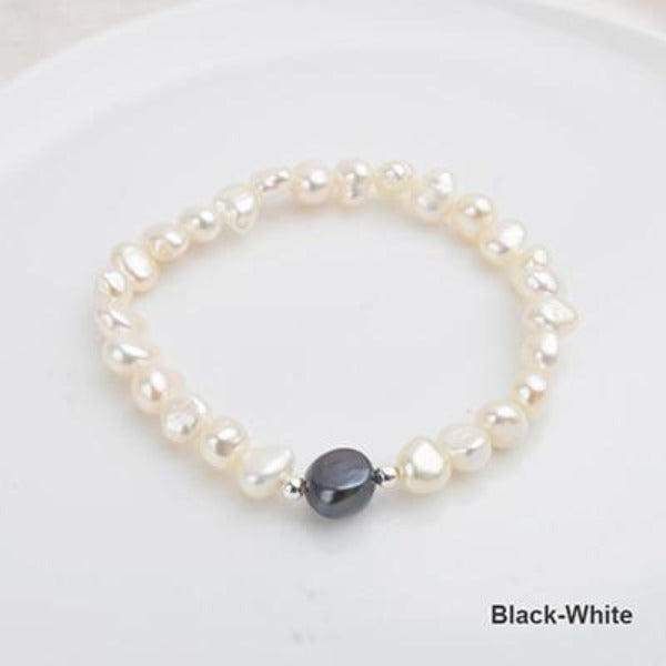 Baroque Freshwater Pearl Charm Bracelet - pearlsnlucent.com