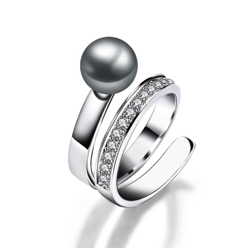Fancy Grey Pearl Ring - pearlsnlucent.com