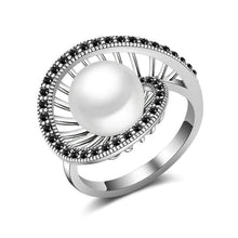 Load image into Gallery viewer, White Pearl Cocktail Ring - pearlsnlucent.com