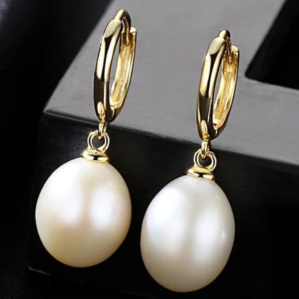 925 Sterling Silver Freshwater Pearl Earrings - pearlsnlucent.com