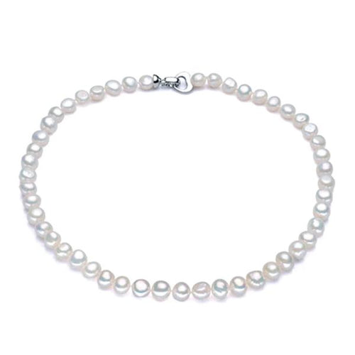 Baroque Freshwater Pearl Necklace - pearlsnlucent.com