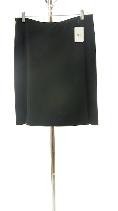 #1791 Sale Rack Item / Short A-Line Dress Skirt / Junior 7 / Black