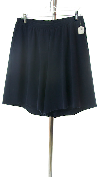 #1796 Sale Rack Item  / Walking Culottes  / Girls Plus Size14 / Navy