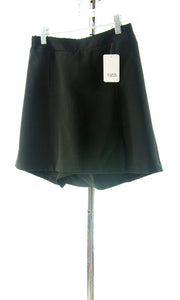 #1955 Sale Rack Item / Flare Skort / Girls Plus Size 8 / Black Twill