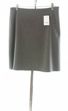 #1975 Sale Rack Item  / Short A-Line Dress Skirt  / Junior 5 / Heather Gray