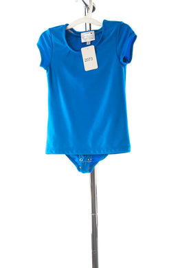 #2073 Sale Rack Item  /  Swim Body Tee / Girls Size 5 / Royal Blue