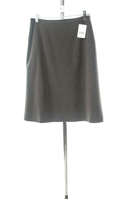 #2125 Sale Rack Item  /  Short A-Line Dress Skirt  / Misses Size 4  / Heather Grey