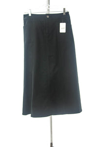 #2157 Sale Rack Item / Long Corneado Skirt / Junior 3 /  Black