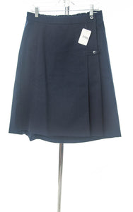 #2169 Sale Rack Item / Uniform Skirt / Girls Plus Size 14 / Navy