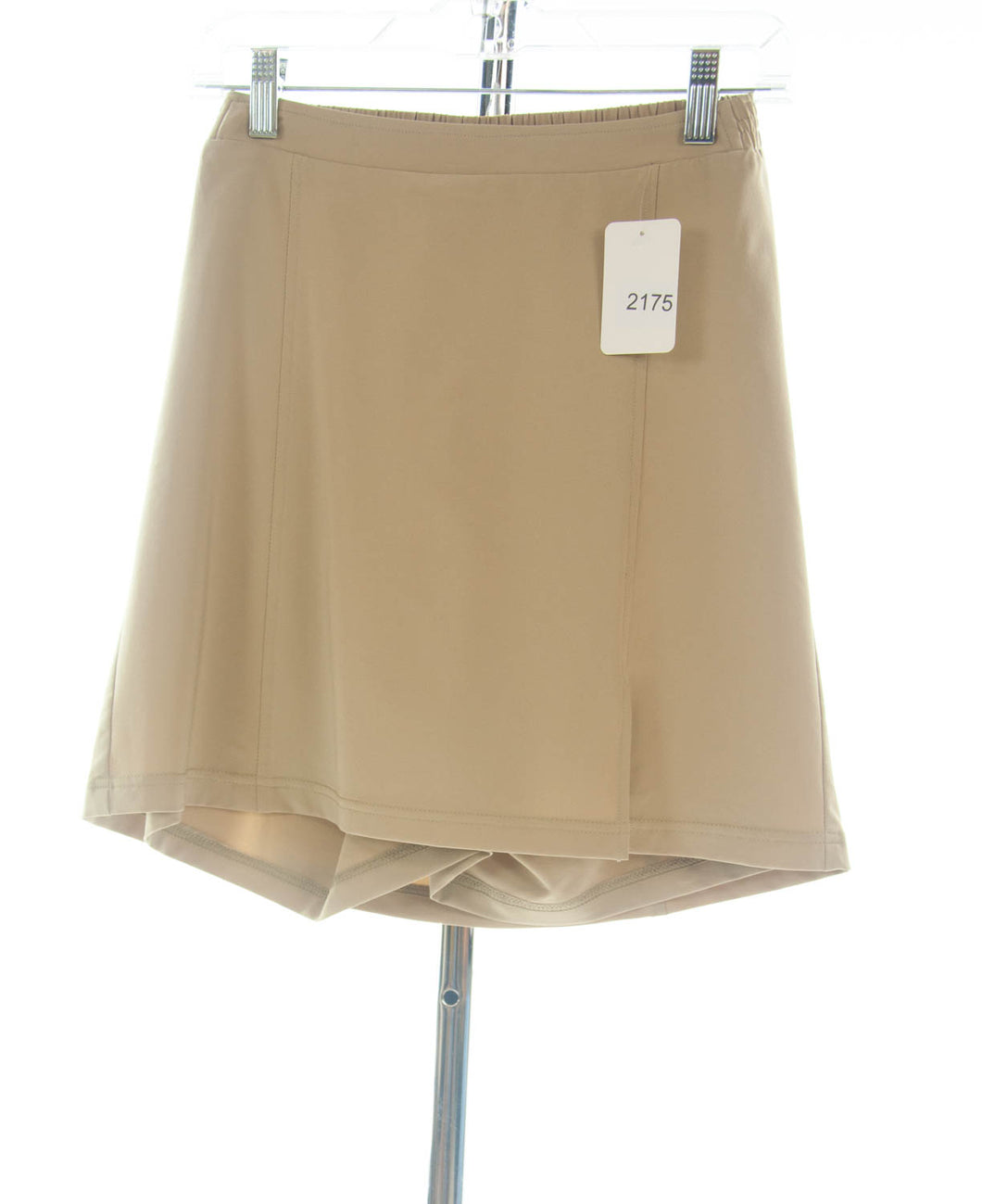 #2175 Sale Rack Item / Flare Skort / Girls Plus Size 8 / Khaki Summer Weight
