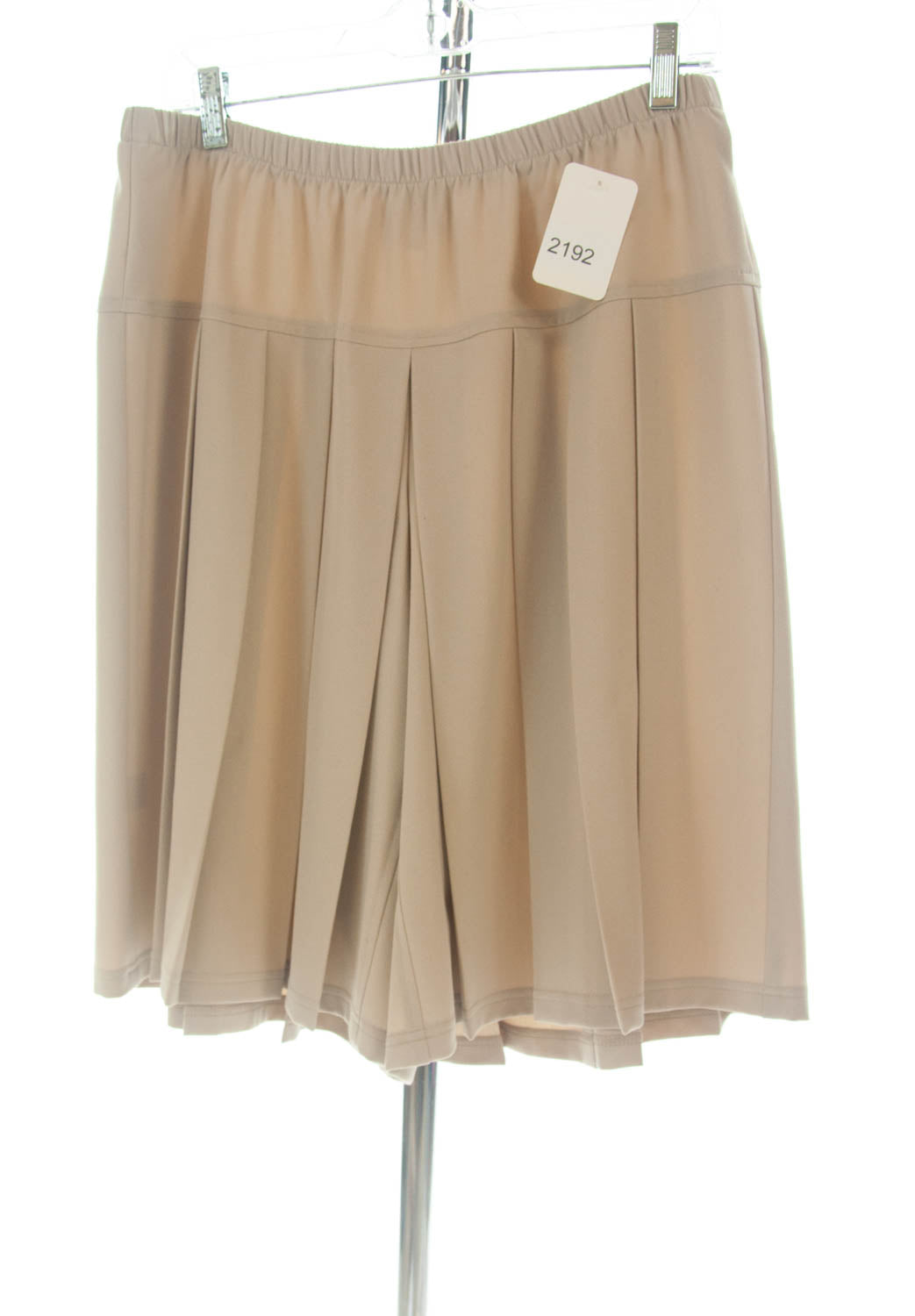 #2192 Sale Rack Item / Traditional Culottes / Petite Large / Lt Khaki