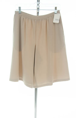 #2202 Sale Rack Item / Walking Culottes / Petite Small / Lt. Khaki