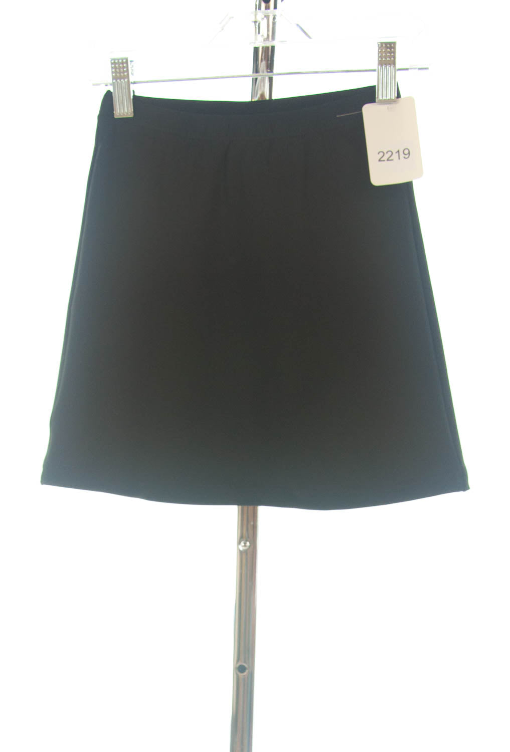 #2219 Sale Rack Item / Athletic Exercise Skirt / Girls 6 / Black