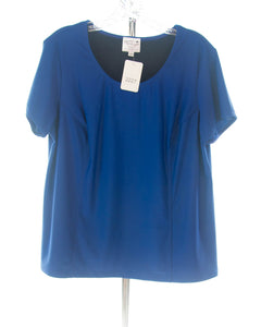#2227 Sale Rack Item /  Swim Tee / Womens Plus Size 20 / Royal Blue
