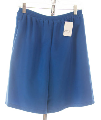 #2252 Sale Rack Item /  Swim Culottes / Petite Small / Royal Blue